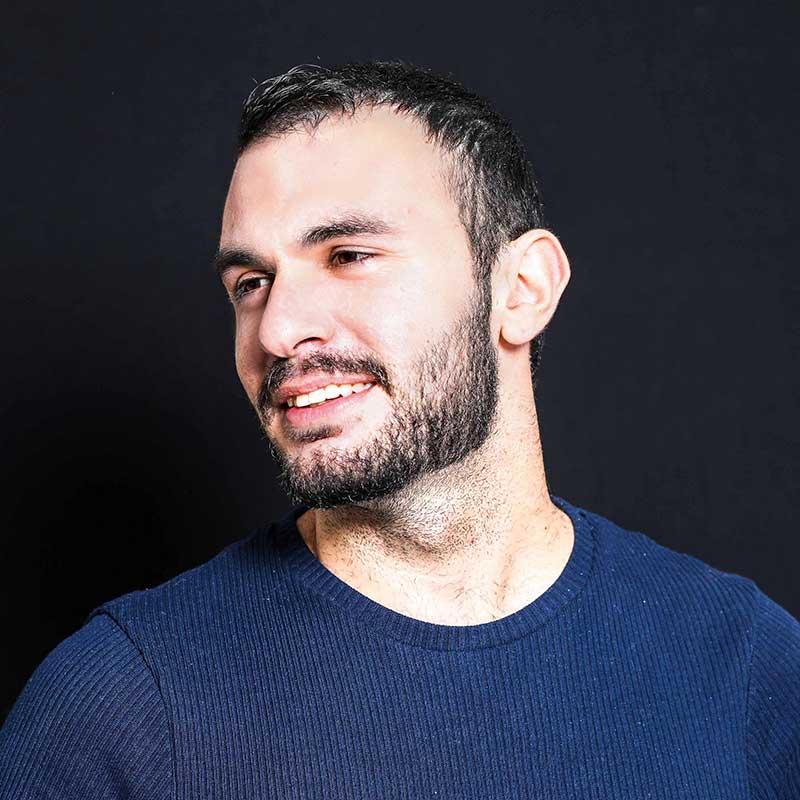 אבירן יוסף, בוגר הסדנה למשחק של אייל רוזלס